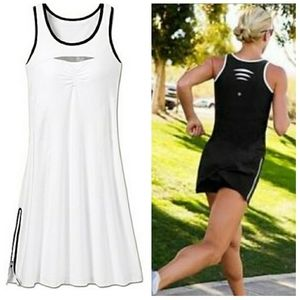 "NWT Athleta ""Smash"" White Dress"